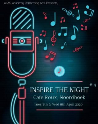 Inspire the Night : Alas Music Academy @ cafe roux, Noordhoek