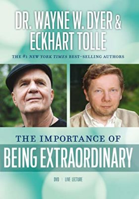 The importance of being Extraordinare - A film by Eckhart Tolle & Wayne Dyer @ cafe roux, Noordhoek