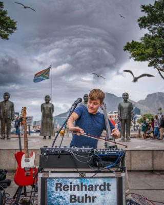 Reinhardt Buhr - Outdoor Seated Show. (Arrive 5pm. Music at 6pm) @ cafe roux, Noordhoek